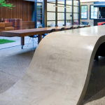 Concrete Bench for Kitchen